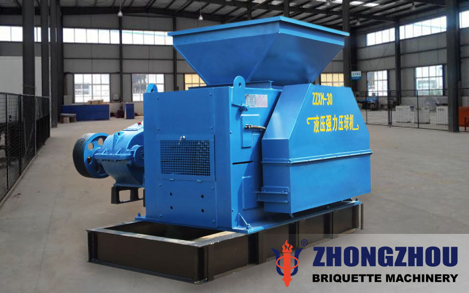 converter dust briquette machine