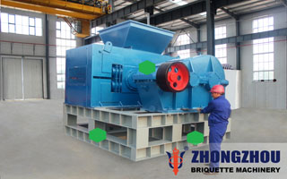 clean coal briquette machine