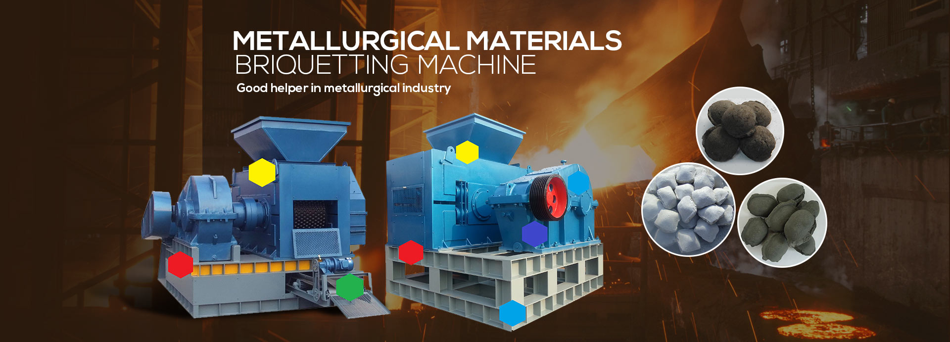 metallurgical briquette machine