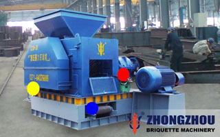 coal gangue briquette machine