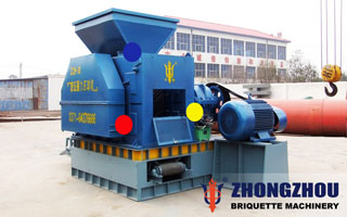 nickel ore briquette machine
