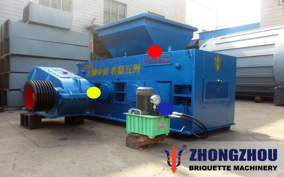 clay briquette machine