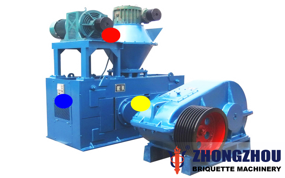 aluminum dust briquette machine