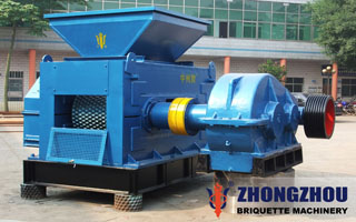 chrome ore briquette machine
